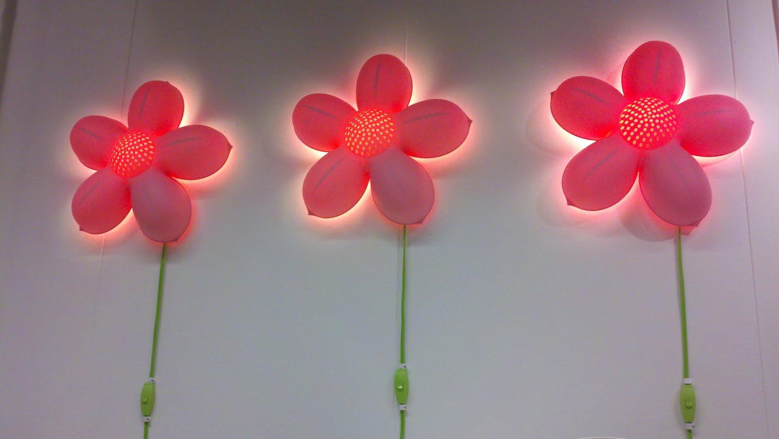 Ikea Flower Light White