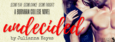 Undecided Cover Reveal Banner