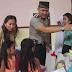 Brimob Dan TNI Polres Blitar Kota Rayakan Ultah Kapolres Blitar Kota