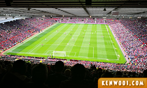 manchester united live game