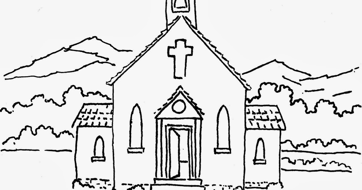Coloring Pages for Kids by Mr. Adron: Enter His Gates With