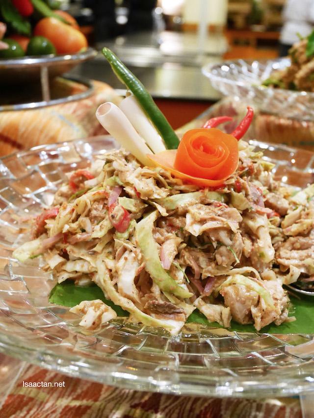 Kerabu Kubis & Chicken