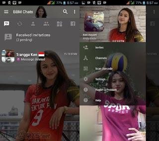 Download kumpulan BBM Mod Apk Terbaru