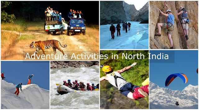 Adventure Activities in North India