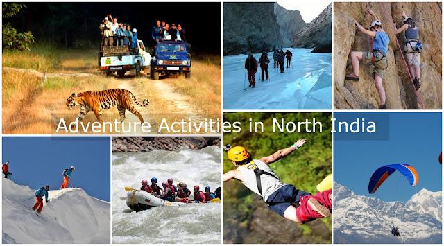 Adventure Activities in North India