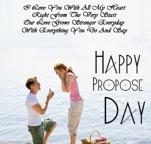 Love Propose Day Shayari in English for Girlfriend