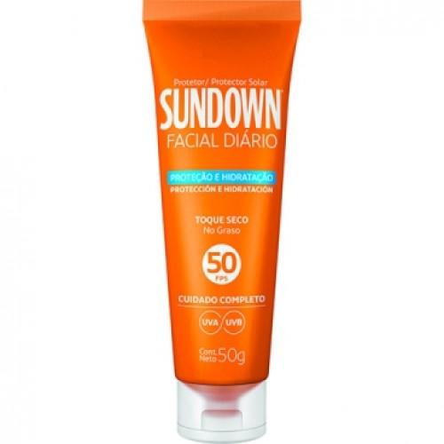 Protetor para o rosto sundown fator 50 uso diário resenha