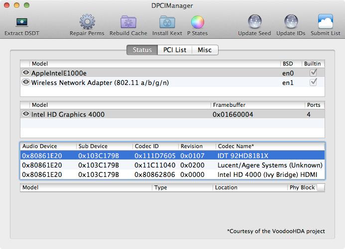 sử dụng phần mềm DPCIManager để kiềm tra speedstep