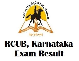 Rani Channamma University Belagavi Results 2017