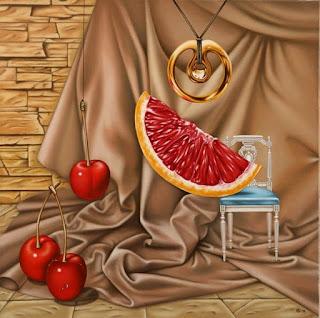 cuadros-de-bodegones-mágico-surrealismo naturalezas-muertas-pinturas-surrealistas