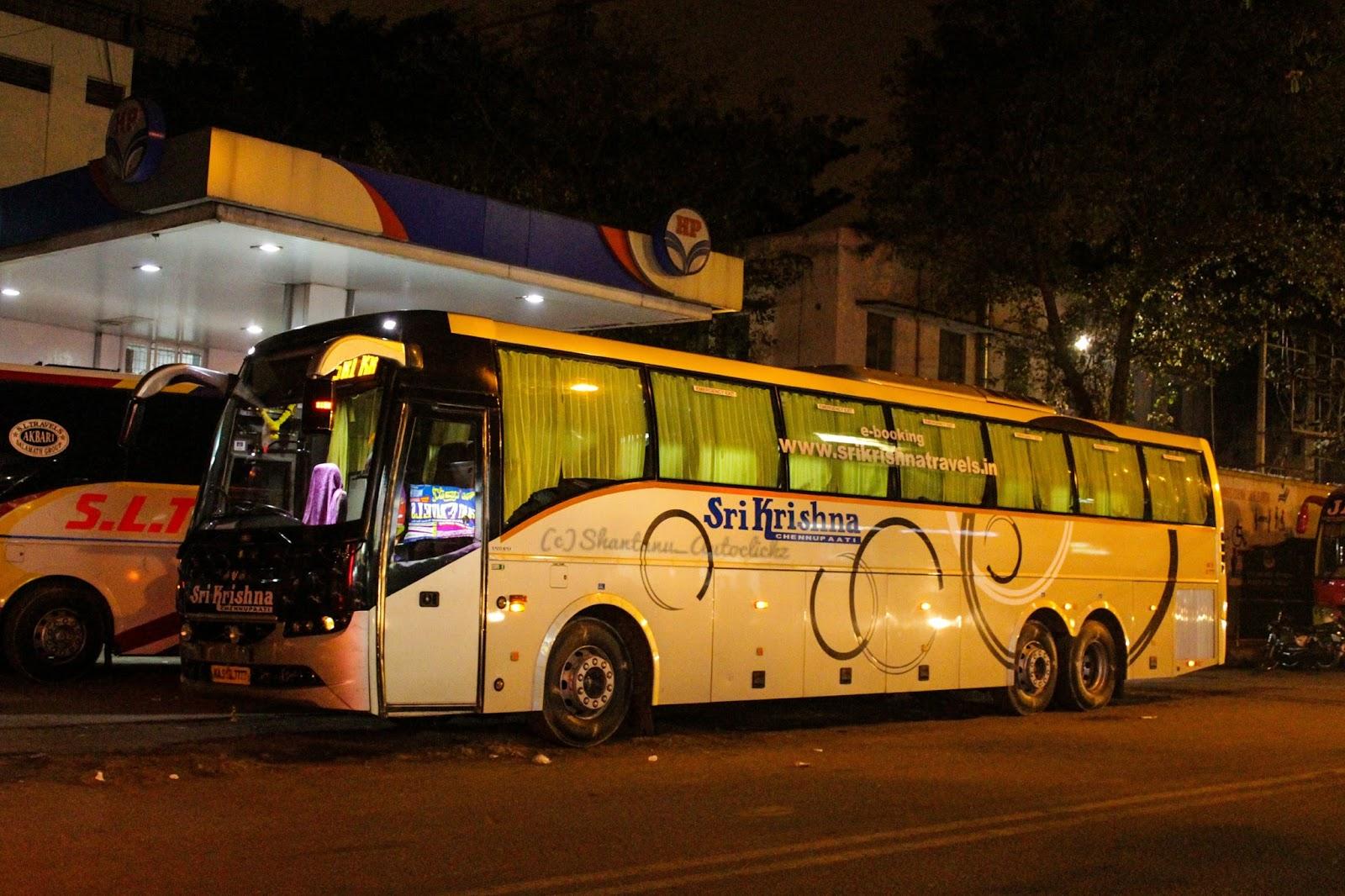 Shantanu Autoclickz Sri Krishna Volvo B9r Multiaxle Semi Sleeper