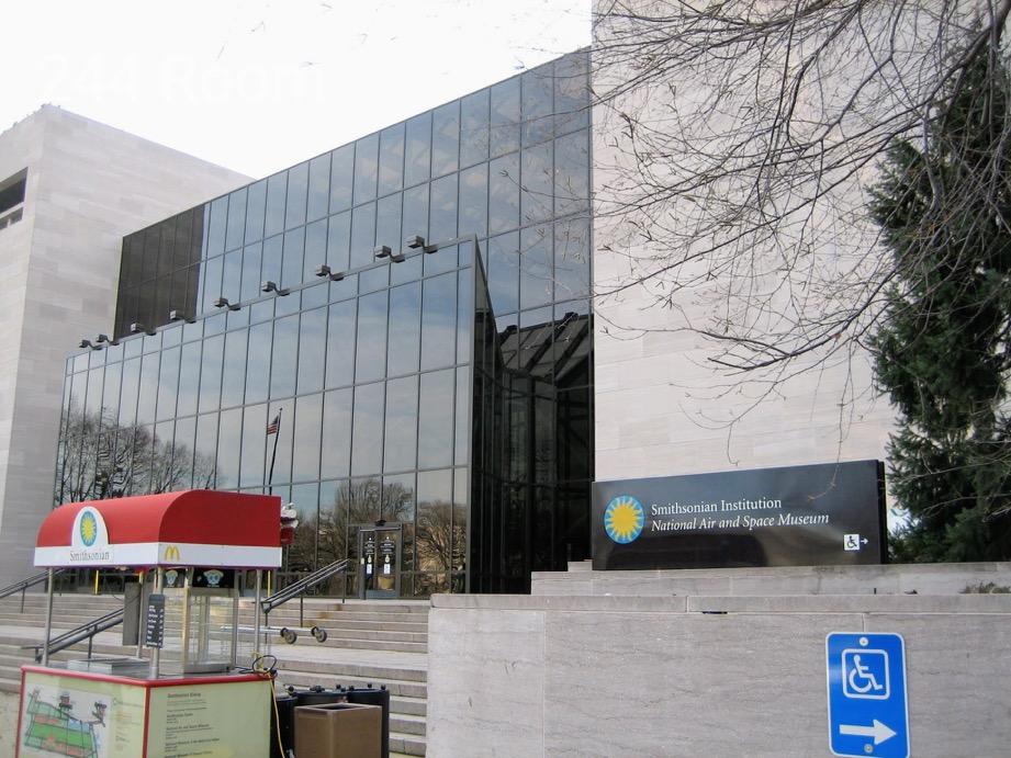 スミソニアン博物館エントランス