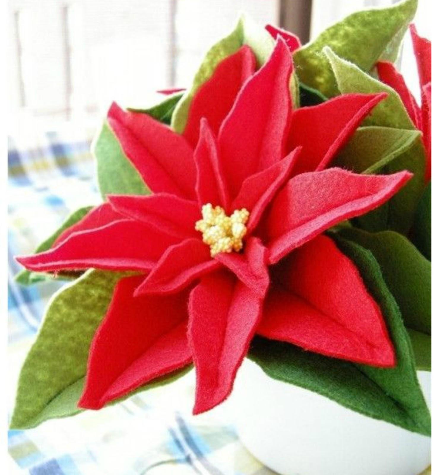 Stelle Di Natale Da Costruire come fare una stella di natale con feltro | donneinpink magazine