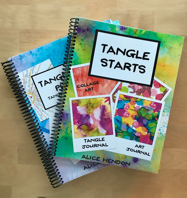 Tangle Starts and Tangle Starts Planner spiral bound - yay!!!