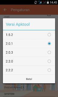 Cara instal Apktool Lenovo A369i