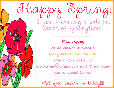Free Shipping on All Orders Today!!!!!!!!!!
