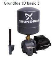 Harga Pompa air Jet Pump dan spesifikasi Grundfos