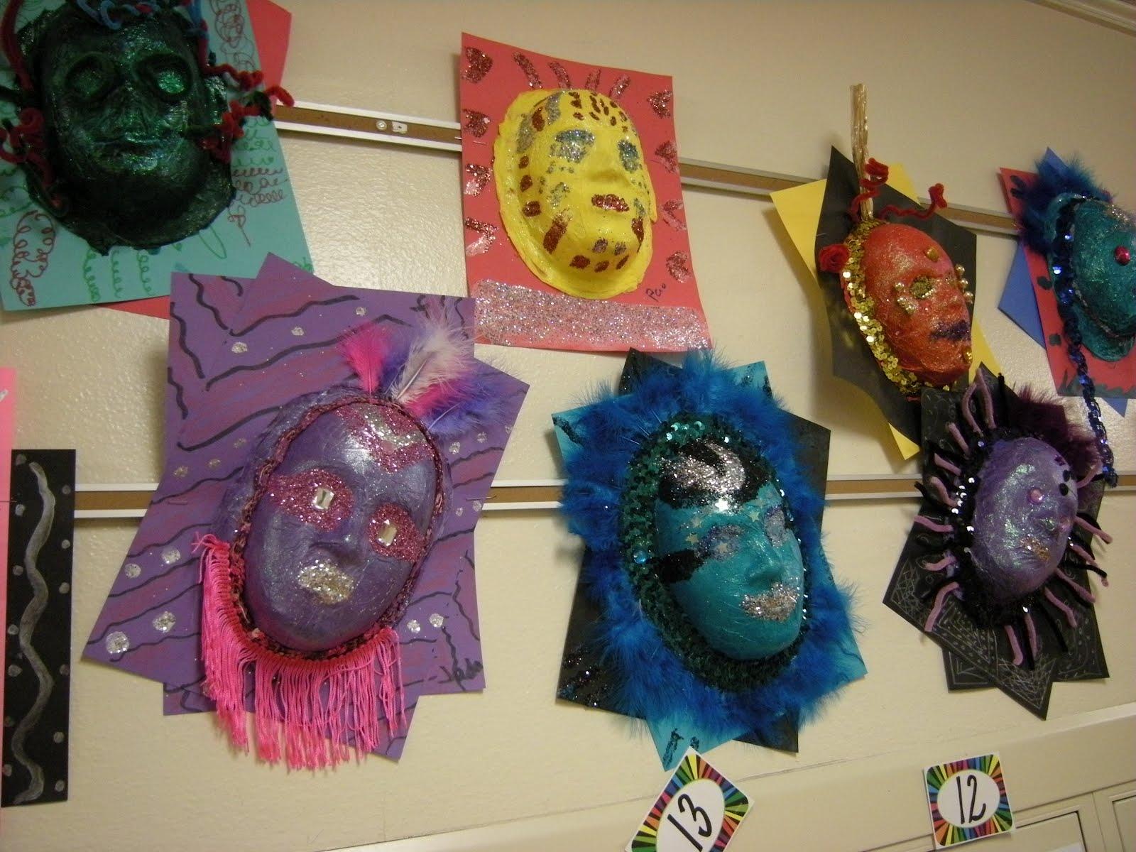 Artolazzi Mardi Gras Masks