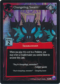 My Little Pony Changeling Swarm Canterlot Nights CCG Card