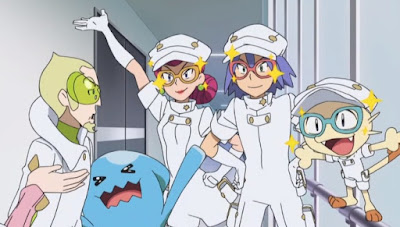 Pokemon Sol y Luna Capitulo 96 Temporada 20 El Team Rocket y Stufful