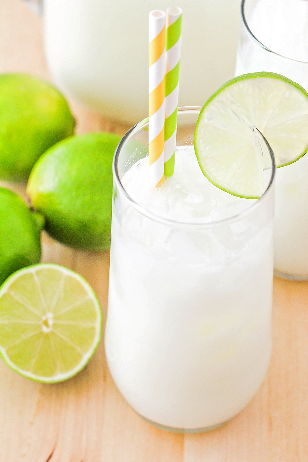 This Brazilian lemonade is amazingly refreshing, and so simple and delicious!