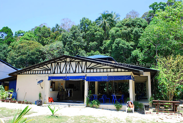 Perhentian Besar Island Bubbles Resort