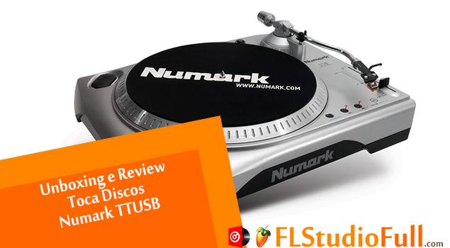 Unboxing e Review Toca Discos Numark TTUSB