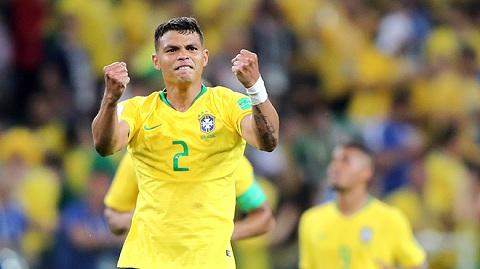 Thiago Silva đang mang đến sức mạnh cho Brazil