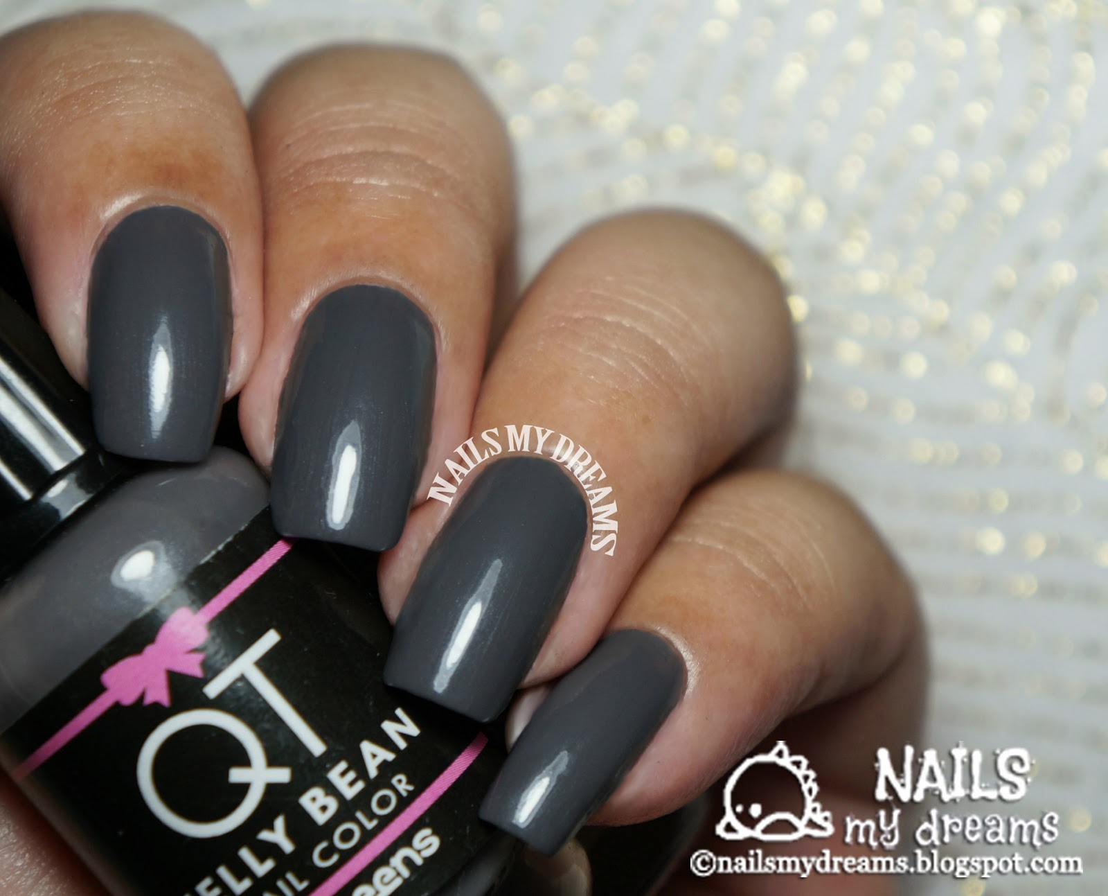 Nails My Dreams: QT Nail Polishes by Weens - Eight Random Swatches