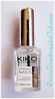 base strong nails KIKO