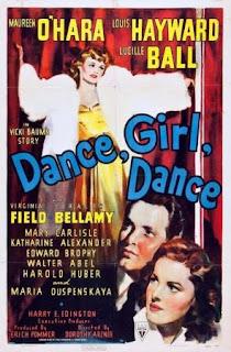 Baila, muchacha, baila (1940) Comedia dramatica con Maureen O'Hara