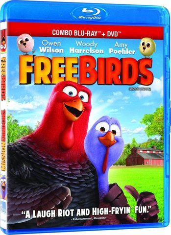 Free Birds 3D SBS Latino
