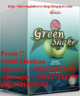 Green Shake dari jovem minuman untuk keehata pencernaan