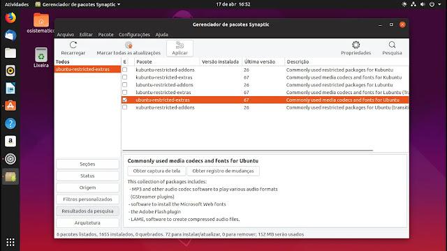 codecs-ubuntu-restricted-extras-synaptic-canonical-lançamento-linux-ubuntu-disco-dingo-1904-19-04-gnome-shell-yaru-tema