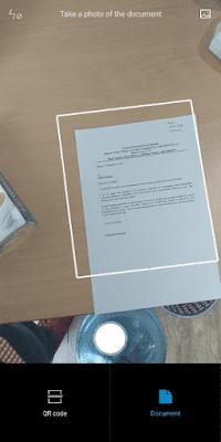 Cara Scan Lamaran Kerja Lewat HP Tanpa Aplikasi (Xiaomi)