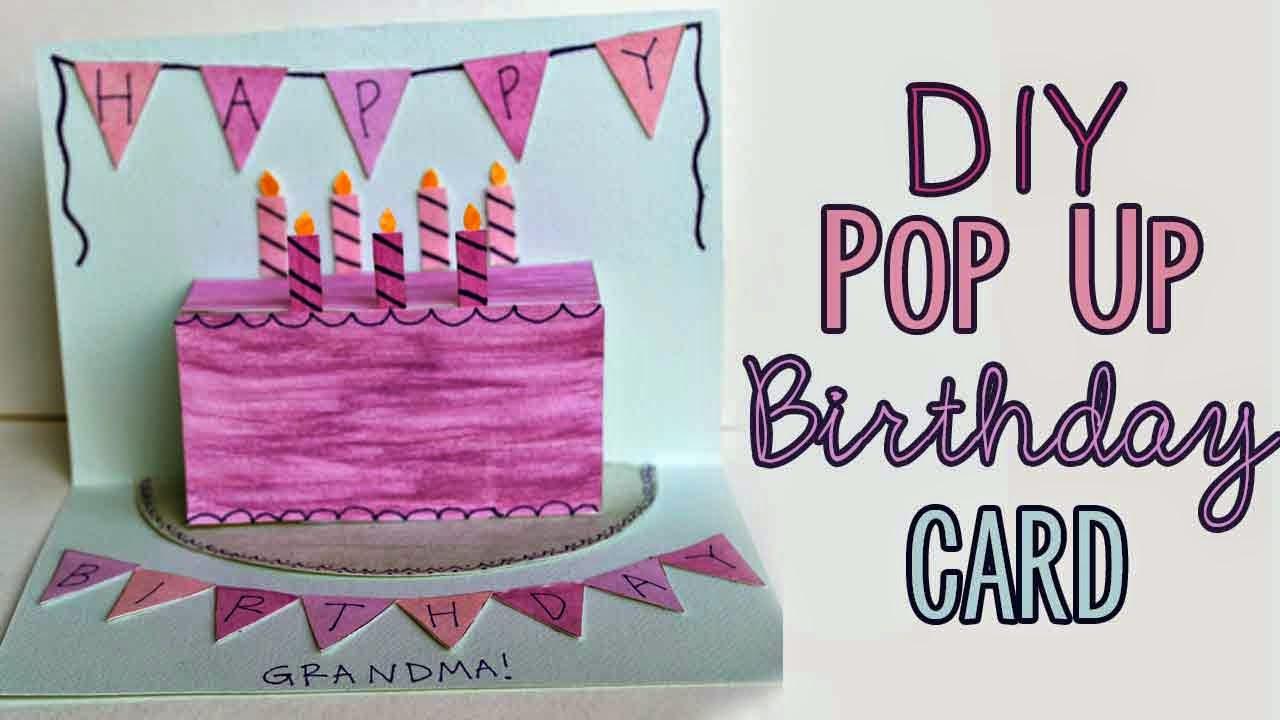 Pugdemonium Diy Pop Up Birthday Card Free Patterns