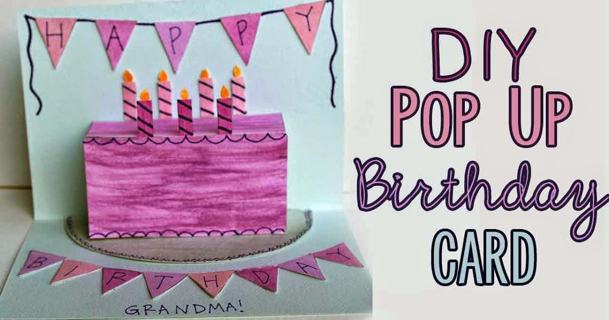 Pugdemonium: DIY Pop-up Birthday Card + Free Patterns