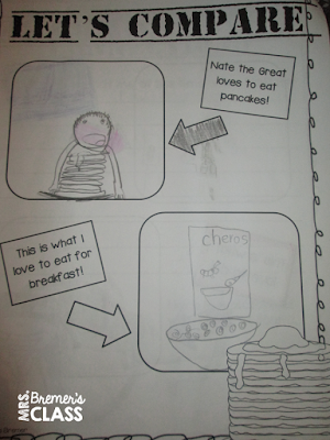 Nate the Great book study companion activities and a mystery to solve in the classroom on Nate the Great Day!