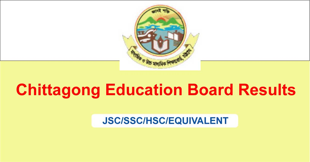 SSC Result 2019 Chittagong Education Board Publish date
