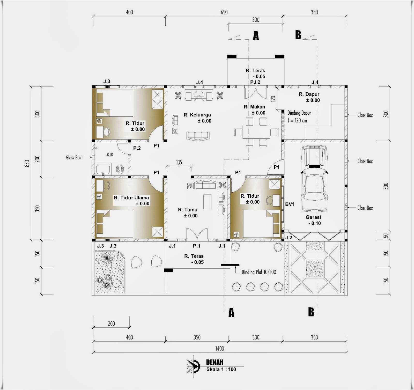 Image Result For Cari Denah Rumah Type