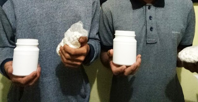 Dua Tersangka Pengedar 2000 Pil yang Diduga Tramadol di Tangkap