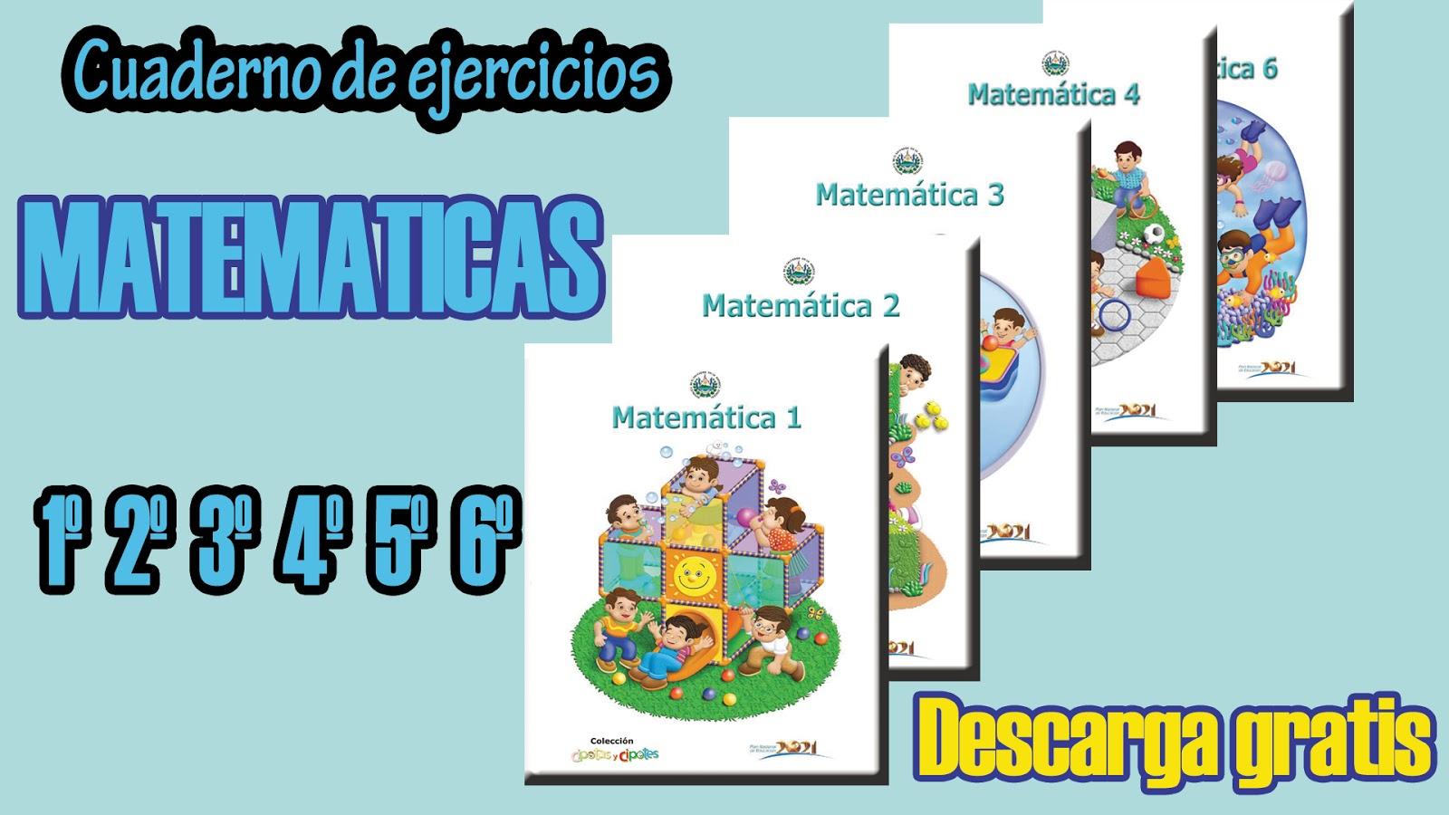 Cuaderno de Matemáticas para 4º Cuarto primaria - Mi Salón de Clases ...