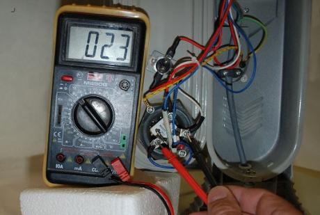проверка неисправности ТЭНа в электрорадиаторе