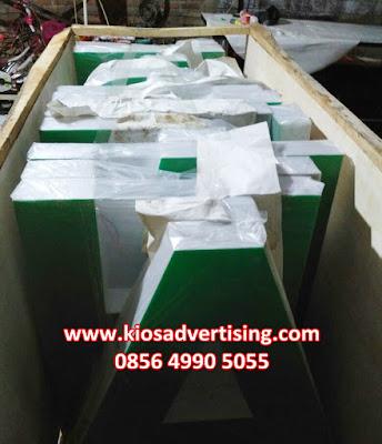 Jasa Pembuatan Letter Akrilik Profesional Malang