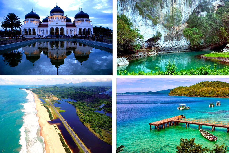 Potensi Wisata Di Indonesia Lengkap 34 Provinsi  Peta