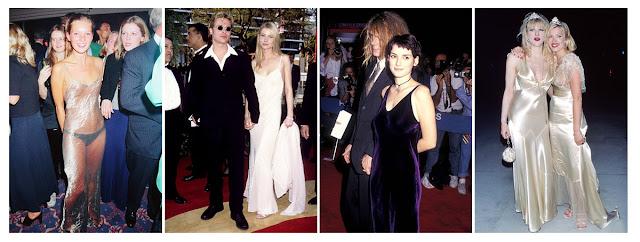 Платье-комбинация в 90-е годы