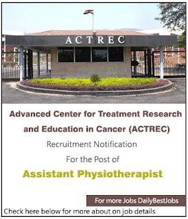 ACTREC Job