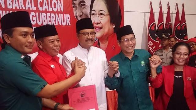 PKS Akan Merapat Ke PDI-P dan PKB Dukung Gus Ipul dan Anas, Koalisi Anti Parpol Pembela AHOK Omong Kosong, Ini Politik Bung!