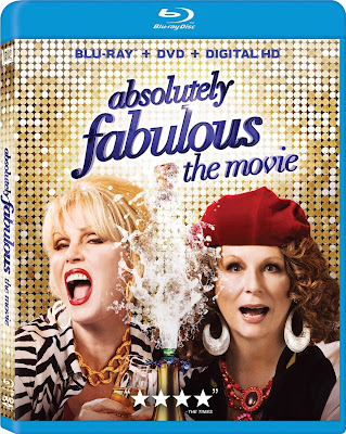Absolutely Fabulous The Movie 2016 Dual Audio 720p BRRip 450mb HEVC x265