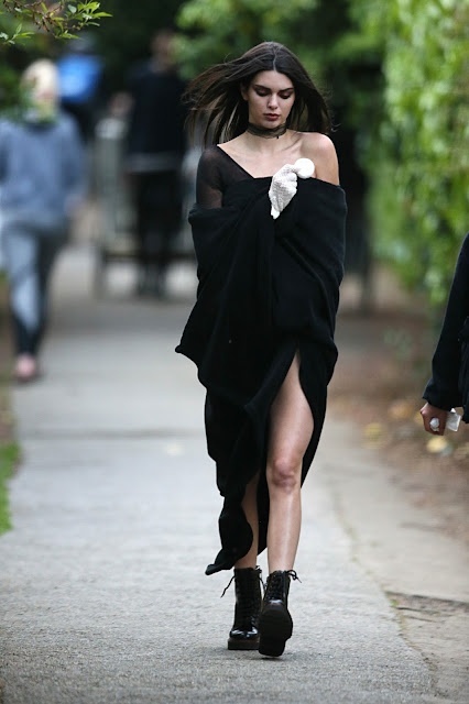 Fashion Model, @ Kendall Jenner - Doing a photoshoot in London